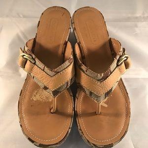 Coach Shoes - Coach heel Sandals Size 5.5